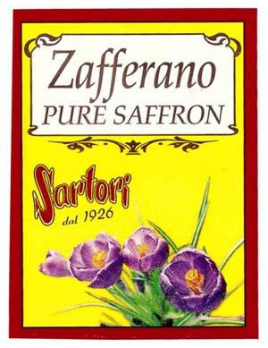 Zafferano Sartori - bustina